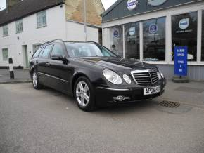 Mercedes-Benz E Class 2.1 E220 CDI Avantgarde 5dr Tip Auto Estate Diesel Black at Great Paxton Motor Company St. Neots