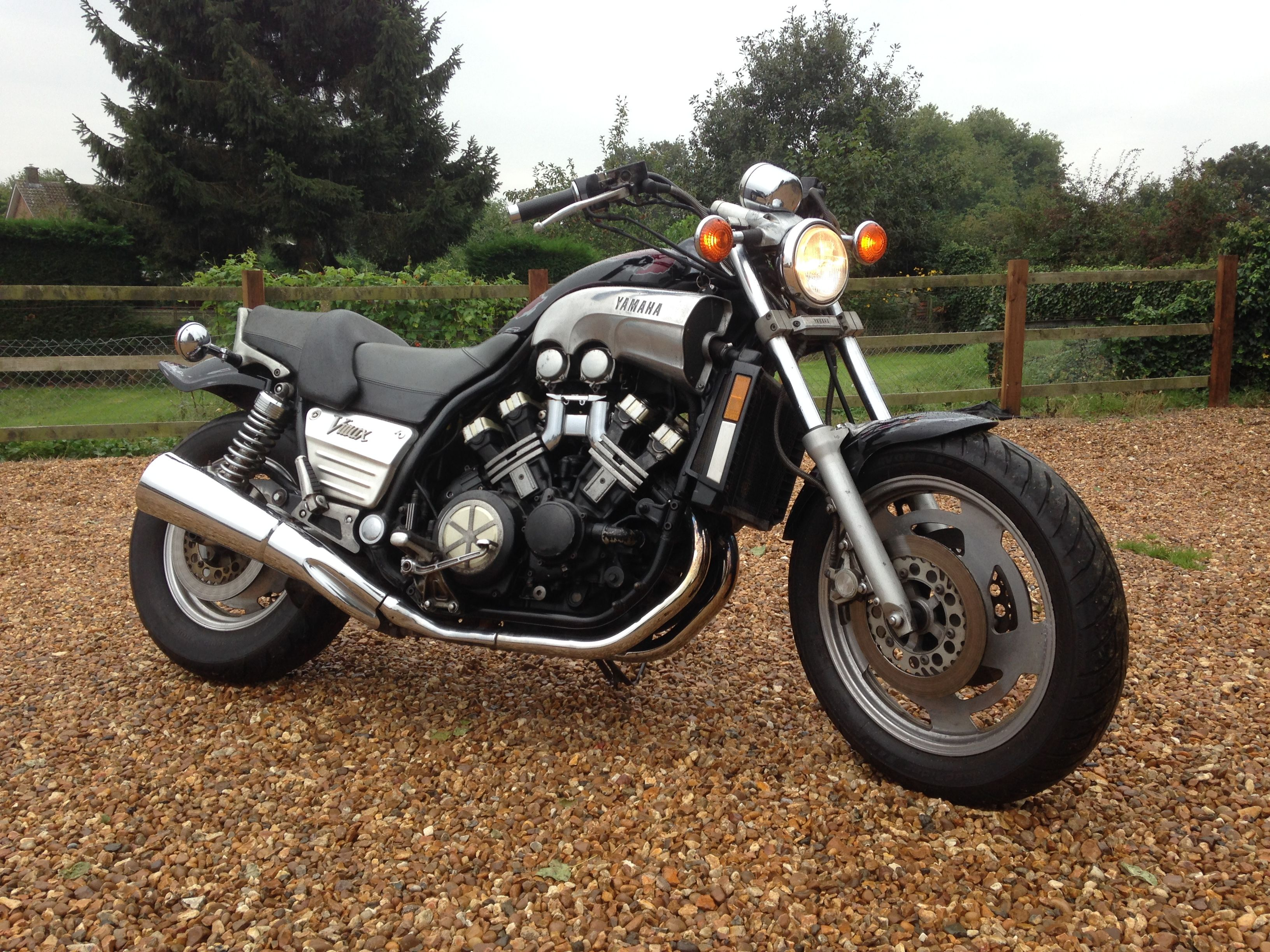 Yamaha Vmax custom build